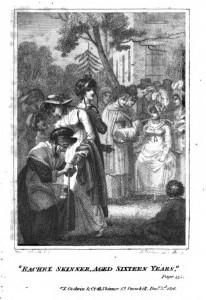 The frontispiece to Barnard's The Prize depicts the prize-giving ceremony, and the moment when it appears that Rose's rival Rachel Skinner will carry off the prize for the best lace