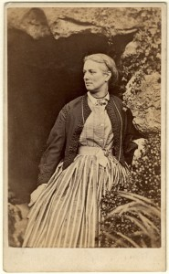 Charlotte Mary Yonge, c. 1860. Copyright: National Portrait Gallery
