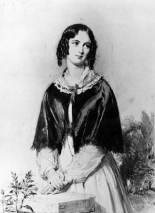 Charlotte Mary Yonge, by George Richmond, 1844.