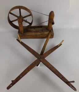A lacemakers' bobbin winder from the Pitt Rivers Museum (1911.29.17). It was collected by Percy Manning from Maria Woods of Launton near Bicester (Oxon) in 1894. The blades suggest a St Andrew's Cross, perhaps the reason for its use in games on Tanders.